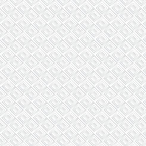 Witte geometrische achtergrond, patroon vector