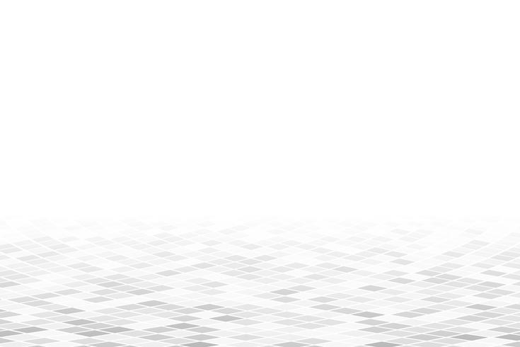 Witte geometrische perspectiefachtergrond vector