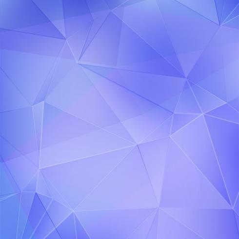 Blauwe geometrische achtergrond vector