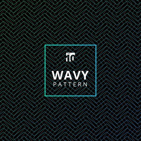 Abstracte blauwe golvende patroontextuur en achtergrond. vector