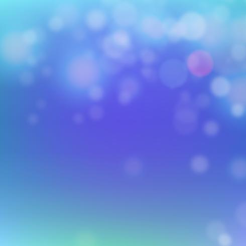 Abstracte bokehachtergrond vector