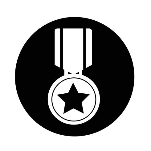 medaille pictogram vector