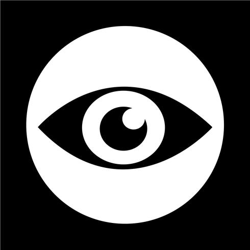 oog pictogram vector