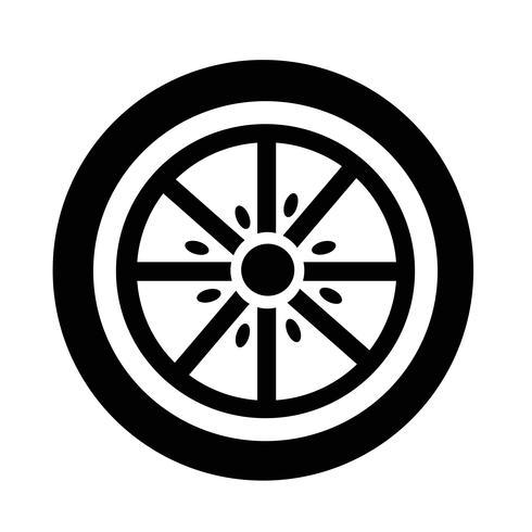 Oranje pictogram vector