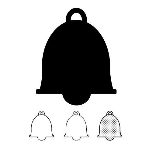 bell pictogram vector