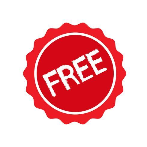 teken knop gratis pictogram vector