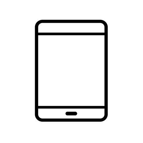 smartphone pictogram vector