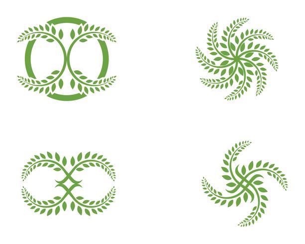blad ecologie natuur element vector pictogram