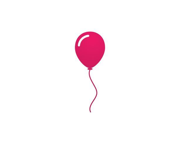 Vliegende vector feestelijke ballonnen glanzend met glanzende ballonnen voor vakantie
