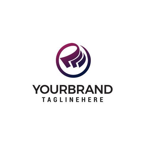 Cash logo ontwerp concept sjabloon vector