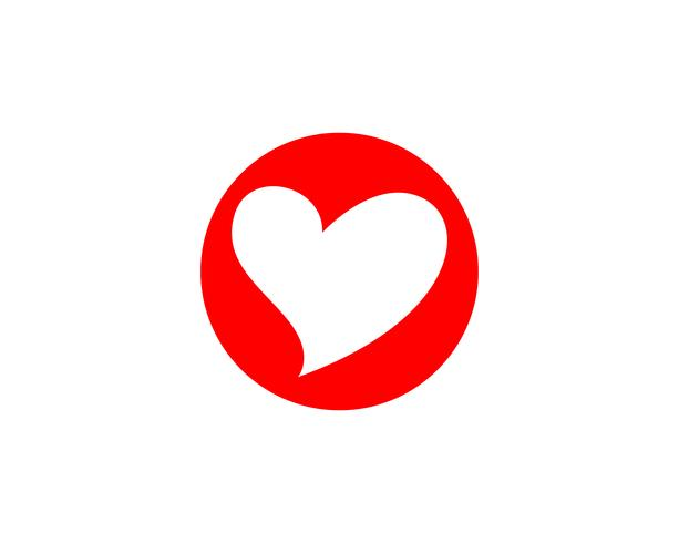 Love Logo and symbols Vector Template pictogrammen app