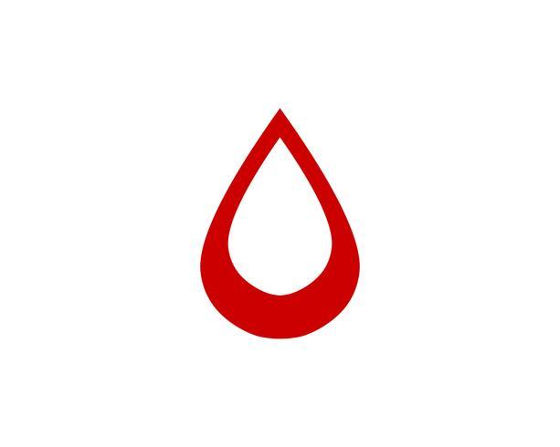 Bloed vector iconen