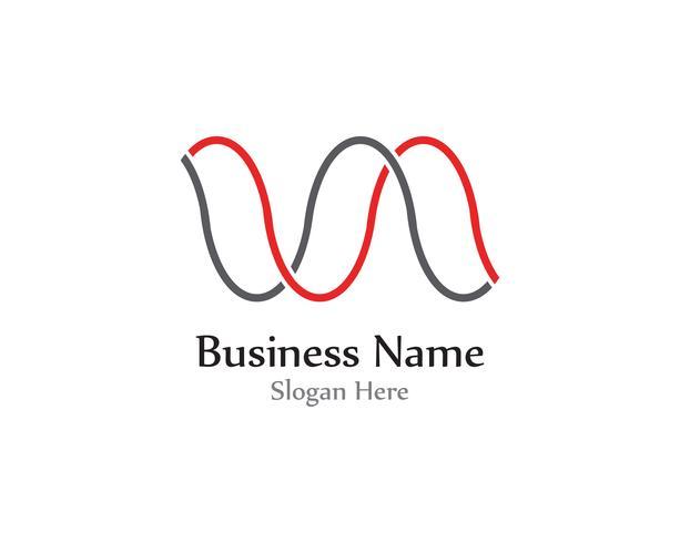 Pulslijn golfgeluid logo-vectoren vector