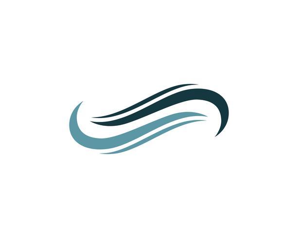 infinity logo en symbool sjabloon pictogrammen app vector