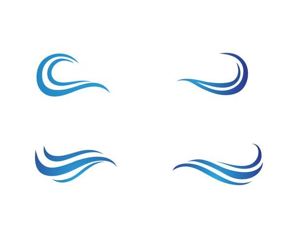 golf water logo strand vector