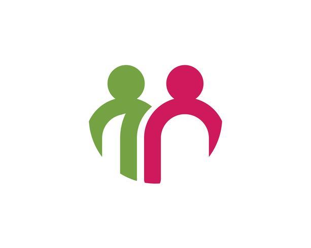 Gemeenschap, netwerk en sociale pictogram vector