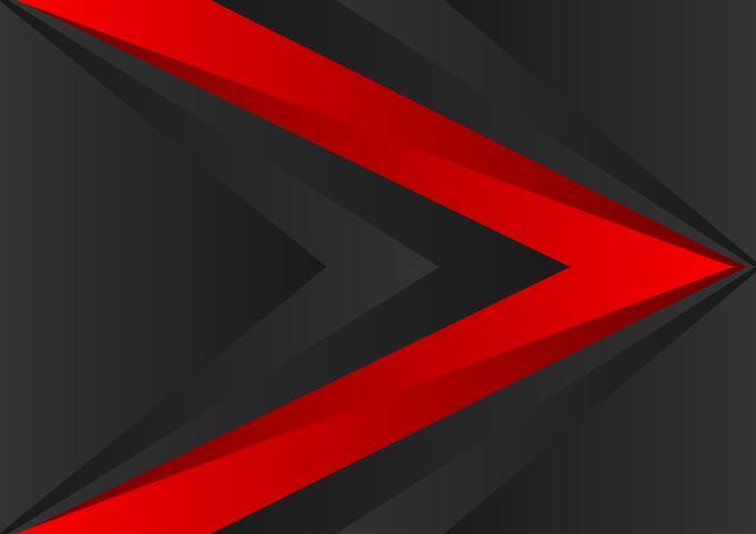 Vector rode en zwarte kleuren geometrische abstracte achtergrond met exemplaarruimte EPS10
