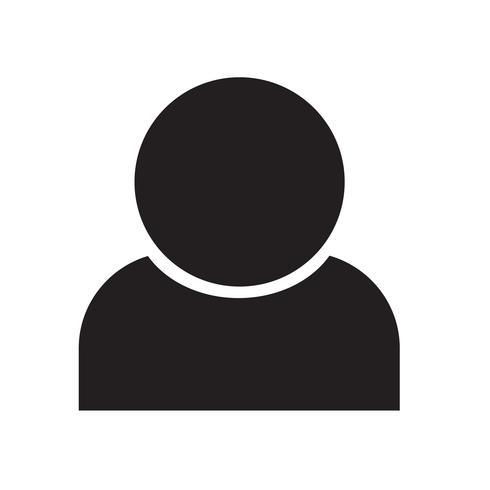Mensen pictogram vectorillustratie vector