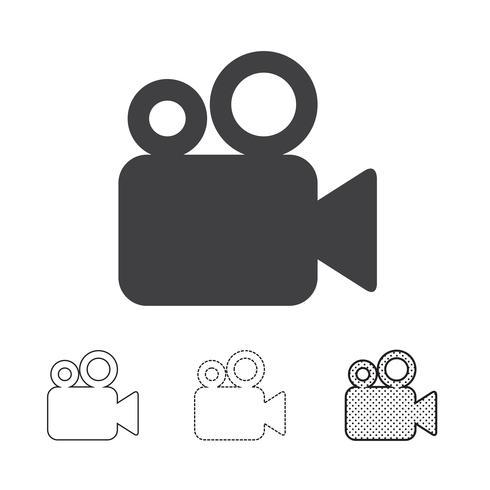 videocamerapictogram vector