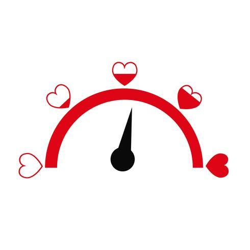 Valentijnsdag kaart idee Liefhebber vector