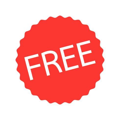 knop teken gratis pictogram vector
