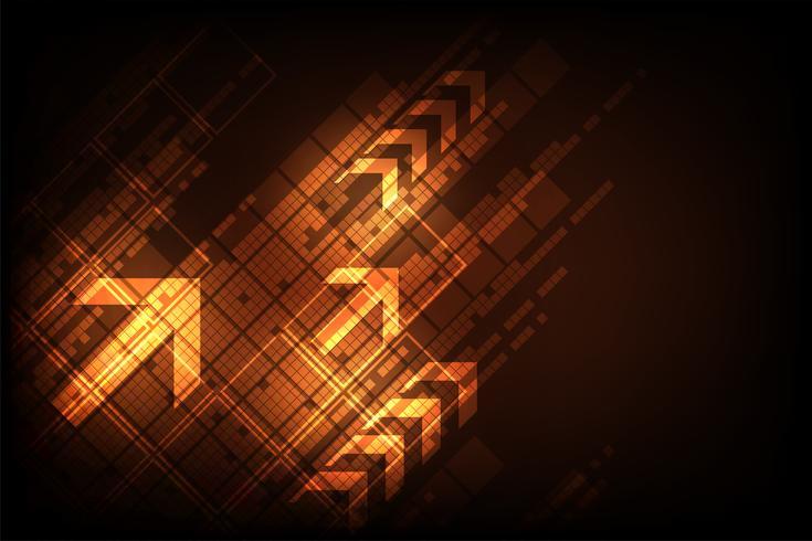 Vector abstract achtergrondtechnologie digitaal ontwerp.