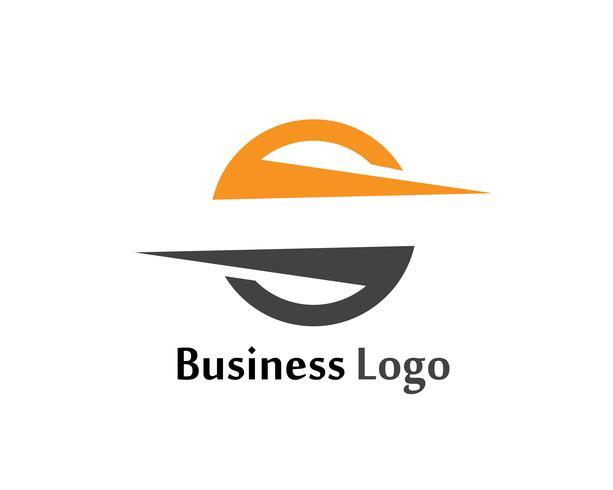 S flash-logo en symbolen sjabloon vector iconen