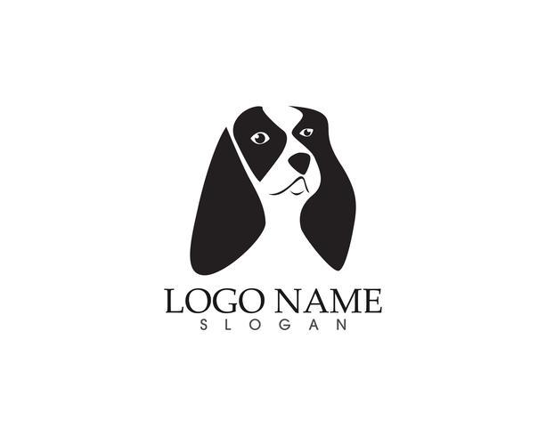 Honden hoofd logo vector