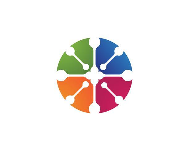 Laboratorium lab logo en symbool vector