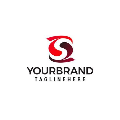 letter S logo ontwerpsjabloon vector