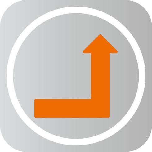Vector stijgende pictogram
