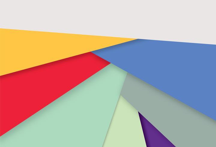 Abstracte geometrische achtergrond. Stijlvol multicolor behang vector