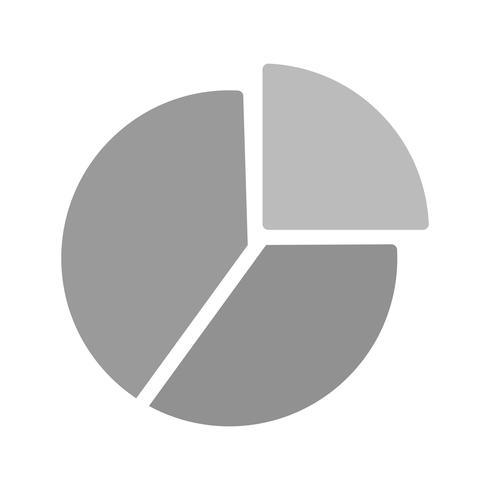 Vector cirkeldiagram pictogram