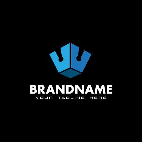 kroon logo ontwerp inspiratie vector