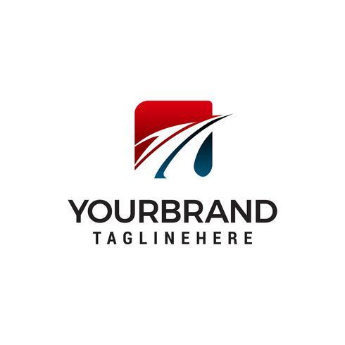 adelaar logo ontwerp concept sjabloon vector