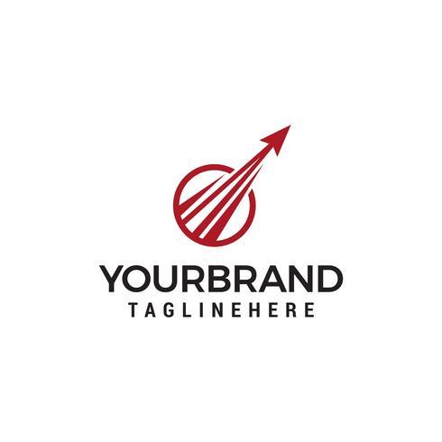 Pijl technologie Logo sjabloonontwerp vector