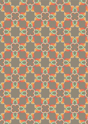 Aziatische traditie kunst patroon vector