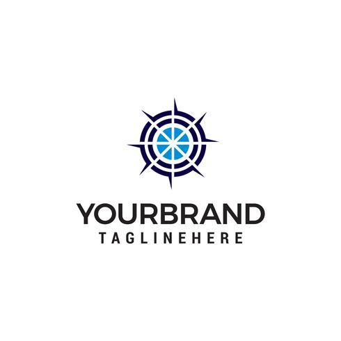 doel logo ontwerp concept sjabloon vector