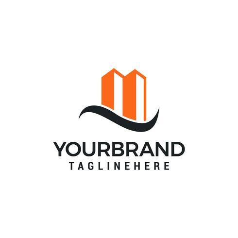 gebouw logo pictogram vector ontwerpsjabloon