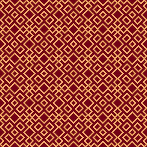 Naadloos vectorornament. Modern modieus geometrisch lineair geklets vector