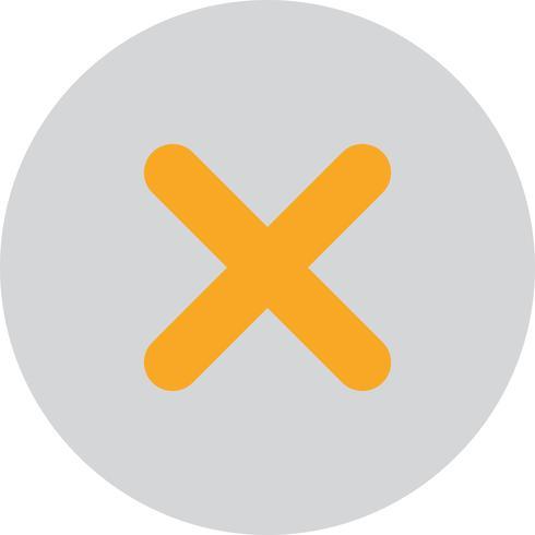 Vector Kruis pictogram