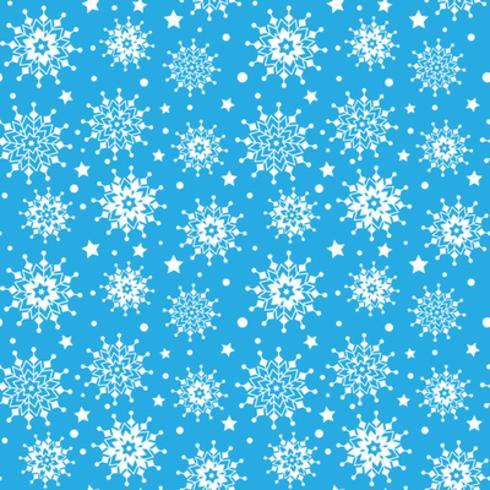 Sneeuwvlokken naadloze patroon vector