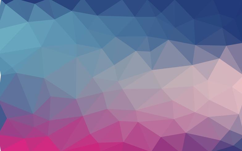 Achtergrond van geometrische vormen. Kleurrijk mozaïekpatroon. Vector