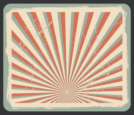 Vectorachtergrond in uitstekende stijl vector