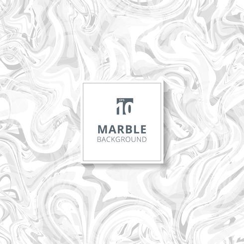 Abstracte witte en grijze aquarel vlekken. Marmeren achtergrondstructuur. vector