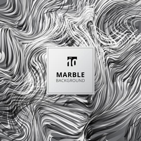 Abstracte witte en zwarte aquarel vlekken. Marmeren achtergrondstructuur. vector