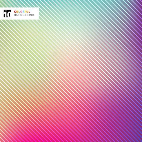 Abstracte heldere kleurrijk met gestreepte lijnentextuur en achtergrond. vector