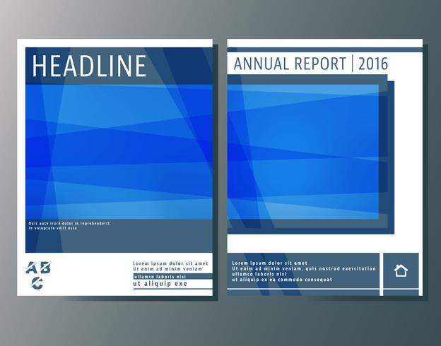 Cover brochures sjabloon vector