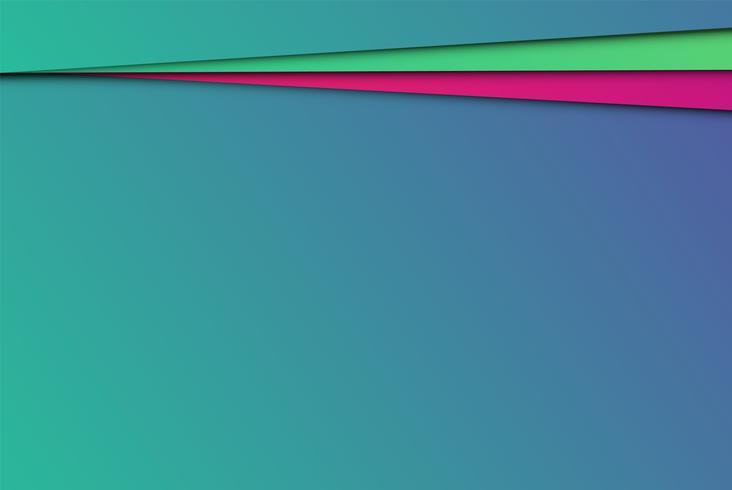 Kleurrijke abstracte documenten, vectorillustratie vector