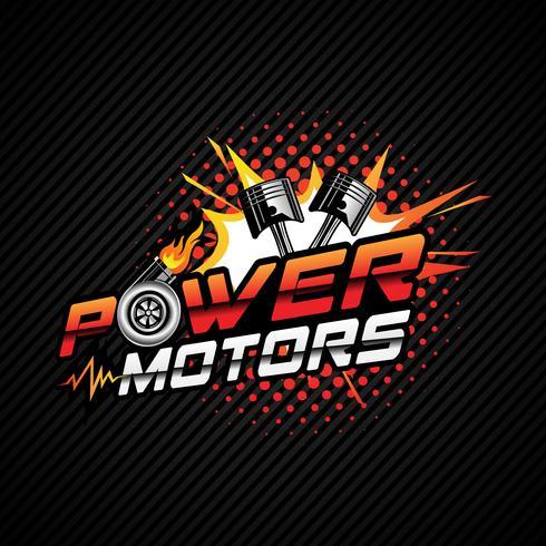 Automotive Logo ontwerp vector